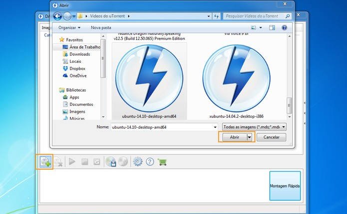 Abra o arquivo em ISO no Daemon Tools (Foto: Reprodução/Barbara Mannara)