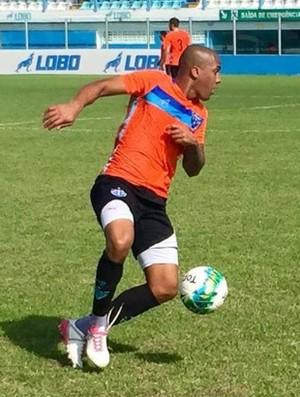 Maílson, atacante do Paysandu (Foto: Jorge Luiz/Ascom Paysandu)