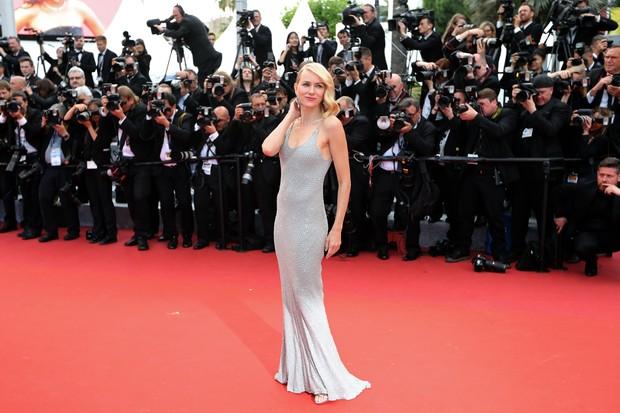 Naomi Watts na première do filme Jogo do Dinheiro, no Festival de Cannes (Foto: AFP)