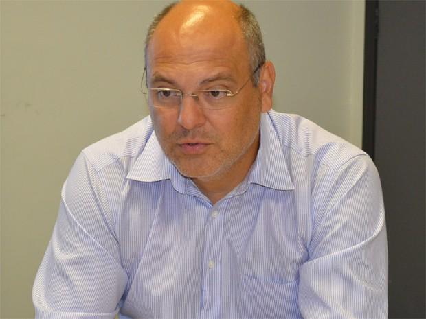 Alexandre Ferreira exerce primeiro mandato como prefeito de Franca (Foto: Felipe Turioni/ G1)