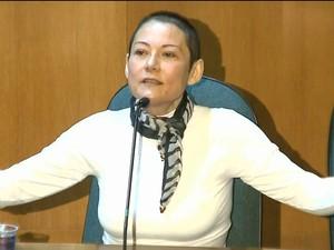 Doleira Nelma Kodama diz que Brasil é movido pela corrupção/GNews (Foto: Reprodução GloboNews)