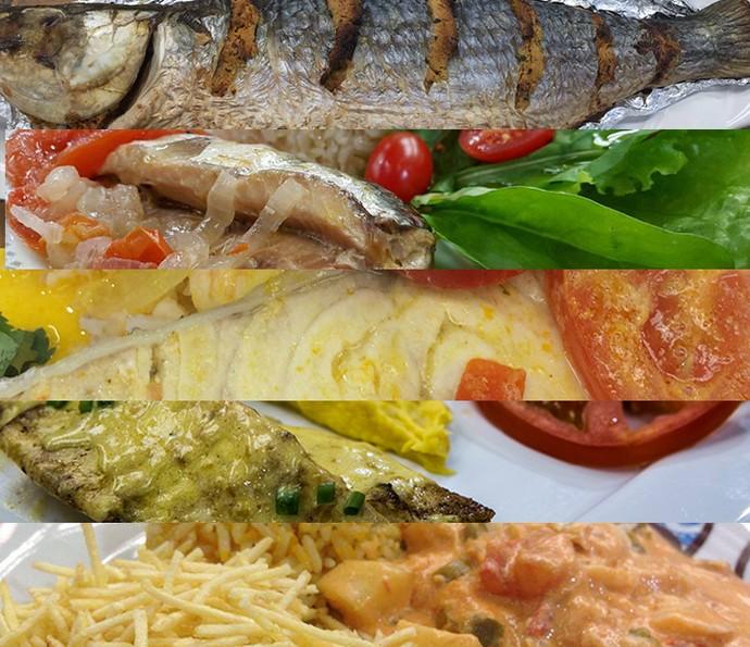 Receitas com frutos do mar: veja a seleção das delícias do É de Casa (Foto: Montagem)