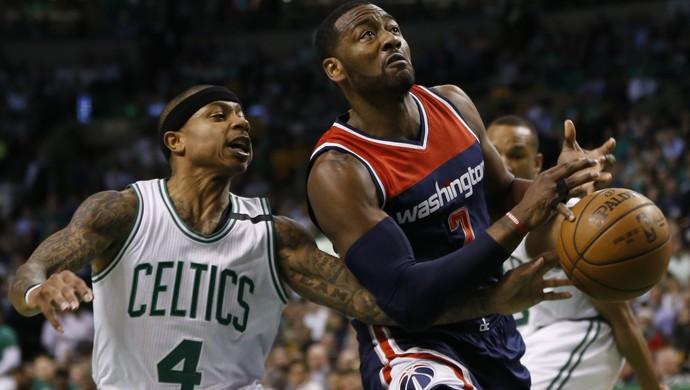 Isaiah Thomas Boston Celtics x Washington Wizards NBA (Foto: Reuters)