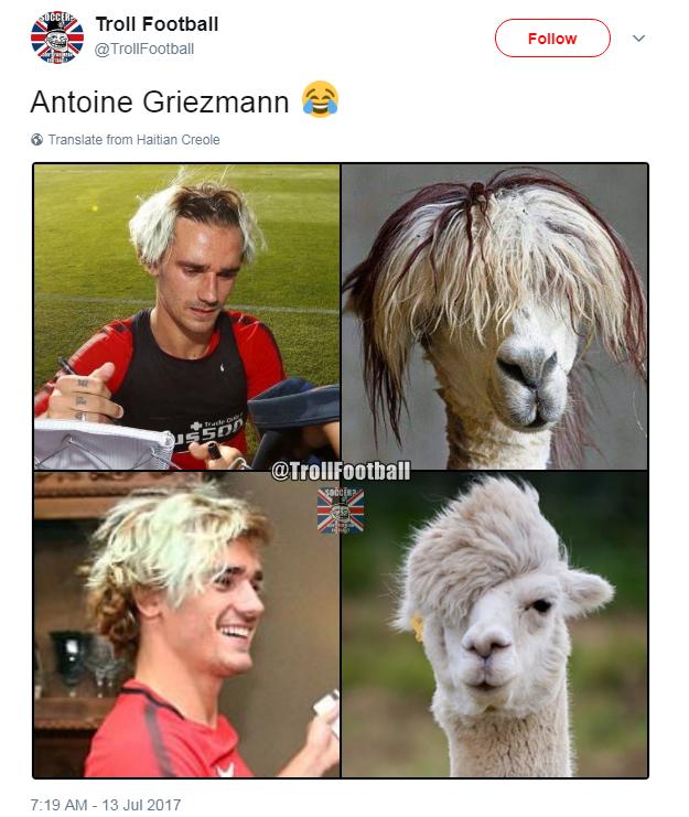 Griezmann zoações
