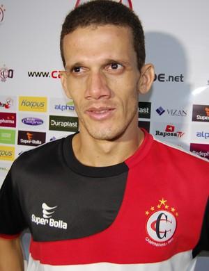 Joécio, zagueiro do Campinense (Foto: Silas Batista / GloboEsporte.com)