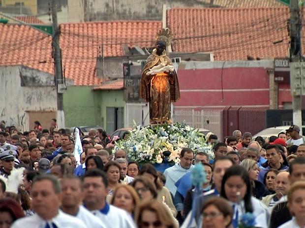 Festa de São Benedito tem início em Cuiabá (Foto: Reprodução/TVCA)