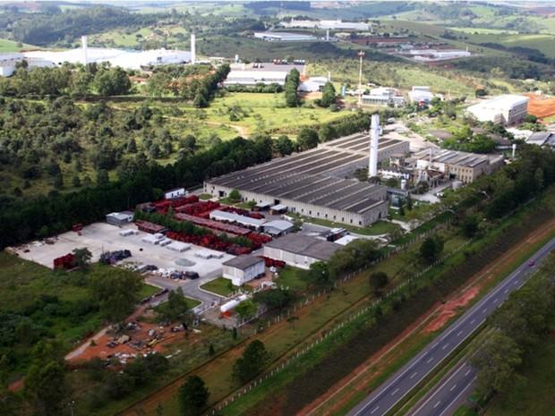 Distrito Industrial de Pouso Alegre, MG, é o único do Sul de Minas a integrar 1ª fase de projeto da Codemig (Foto: Reprodução/Prefeitura de Pouso Alegre)