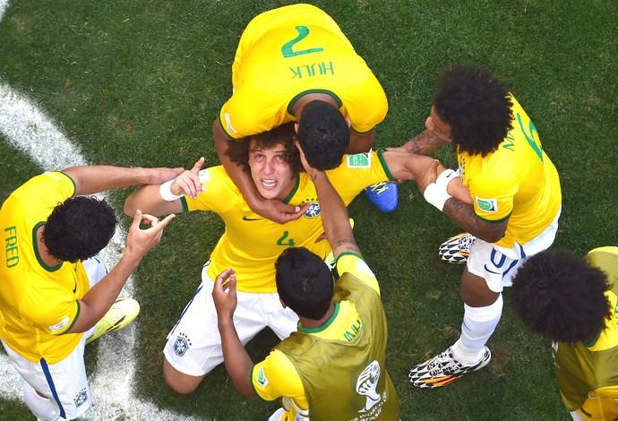 David Luiz Brasil (Foto: Agência AFP )