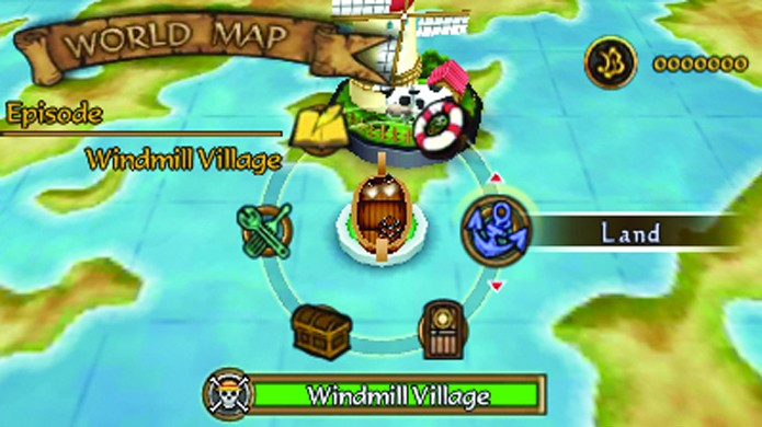 No seu barco você pode equipar seus personagens, criar itens e salvar o jogo (Foto: operationrainfall.com)