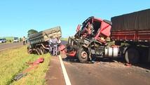 Acidentes em rodovias deixam 1 morto e ferem 2 (Paulo Souza/EPTV)