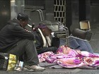 Prefeitura poderá recolher camas, sofás e barracas de moradores de rua
