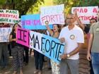 Funcionários protestam contra fusão do Iema, no ES