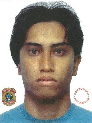 Retrato falado foi divulgado nesta quinta-feira (31) (Foto: Divulgação)
