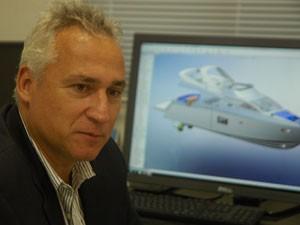 Márcio Schaefer, dono, fundador do estaleiro (Foto: Divulgação)