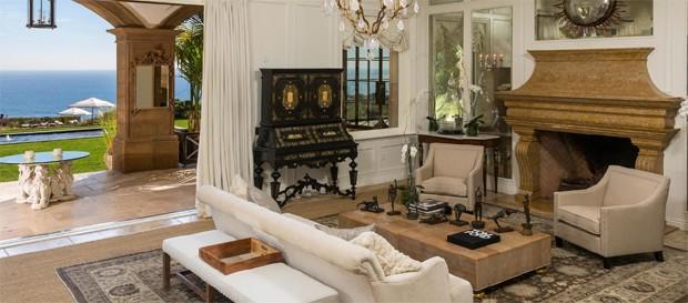 Mansão alugada por Beyoncé e Jay-Z (Foto: Chris Cortazzo Malibu Real Estate)