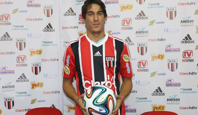 Gimenez vai jogar pelo Botafogo-SP na Copa Paulista (Foto: Luis Augusto / Agência Botafogo)