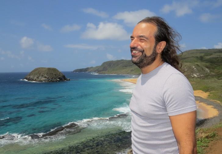 Paulo Campos na praia do Leão 2