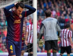 Fabregas barcelona atlético bilbao (Foto: Agência Getty Images)