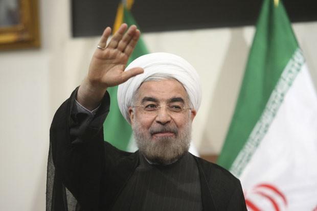 Hassan Rohani pediu diálogo para colocar fim à guerra (Foto: Reuters/Fars News/Majid Hagdost)