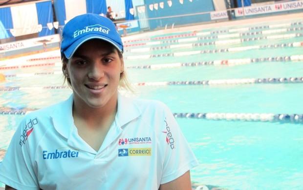 Ana Marcela Cunha está perto do bicampeonato mundial (Foto: Lincoln Chaves / Globoesporte.com)