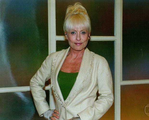 Ana Maria usava franja em 1999 (Foto: Divulgação / TV Globo)