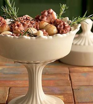 Conserva de polvo com batata e páprica  (Foto:  )