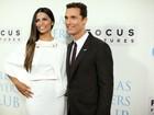 Camila Alves acompanha Matthew McConaughey em première