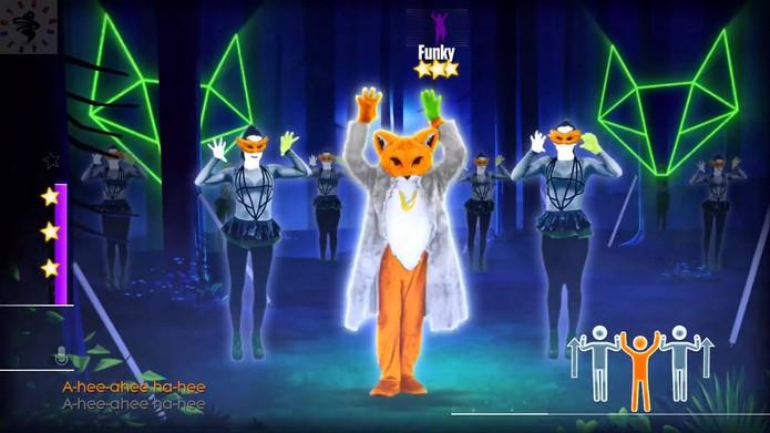 What Does The Fox Say é um dos destaques de Just Dance 2015 (Divulgação/Ubisoft)