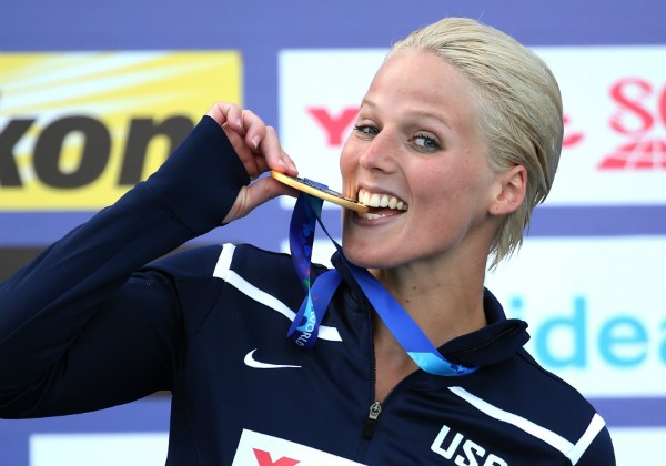 Rachelle Simpson foi campeã no 16th FINA World Championships, em 2015 (Foto: Getty Images)