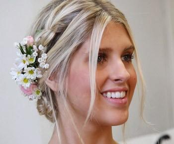 Flores cabelo (Foto: GNT)