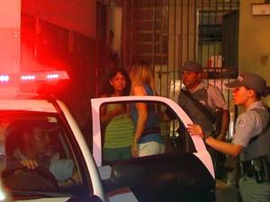 Duas detentas que não fugiram passaram mal à noite (Foto: Reginaldo dos Santos / EPTV)