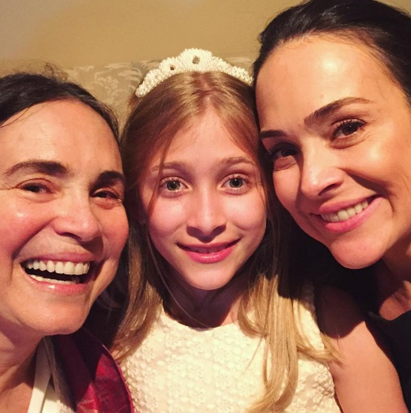 Gabriela Duarte, Regina Duarte e Manuela Duarte (Foto: Reprodução / Instagram)