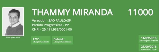 Thammy Miranda  (Foto: Reprodução/TSE)