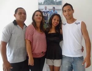 Família Lisboa é responsável pela ascensão de Yago Pikachu (Foto: Gustavo Pêna/GLOBOESPORTE.COM)