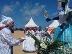 Homenagem reúne 14 terreiros para celebrar Iemanjá em Jaboatão, PE