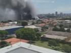 Bombeiros controlam fogo e afastam risco de explosão em Americana, SP