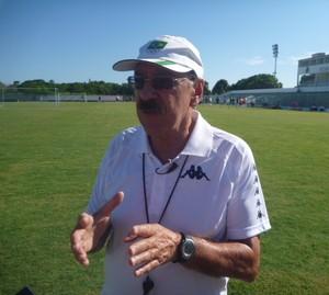 Américo Faria, treinador do Boavista (Foto: Pedro Carrion/Assessoria de Imprensa)