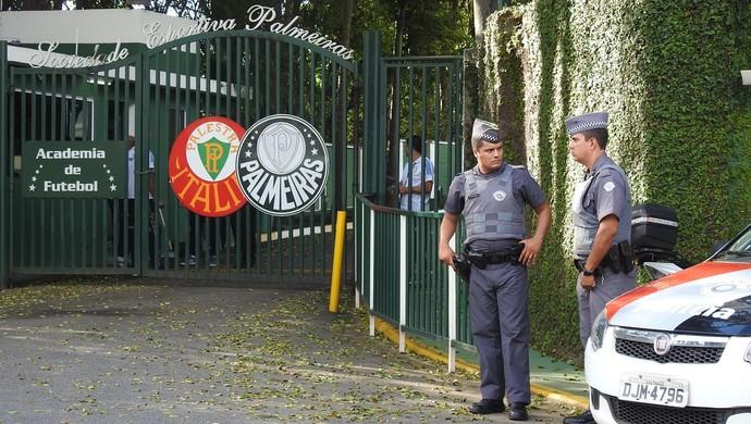 Academia Treino Fechado Palmeiras (Foto: Rodrigo Faber)