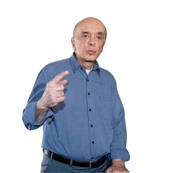 O ministro das Relações Exteriores, José Serra (Foto:   Pablo Jacob / Agencia O Globo)