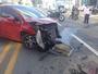 PM morre após ter moto que pilotava atingida por carro, em Goiânia