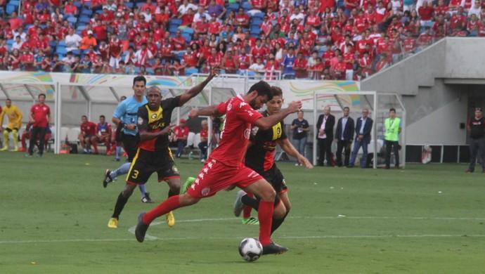 América-RN x Globo FC Arena das Dunas (Foto: Fabiano de Oliveira)