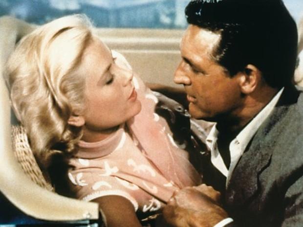 Grace Kelly e Cary Grant em 'Ladrão de casaca' (Foto: Divulgação/Paramount Pictures)