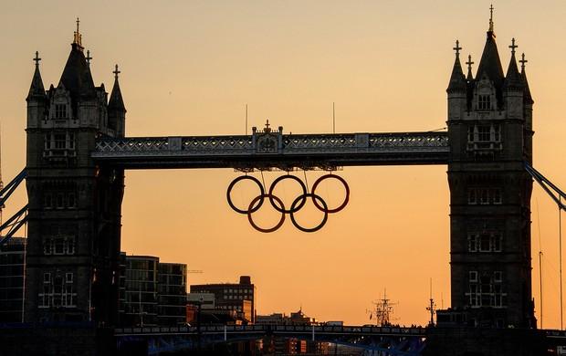 Londres olimpíadas ponte Tower Bridge  (Foto: AFP)