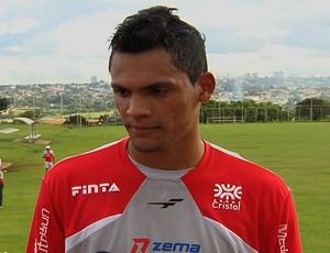 Ruan, goleiro do Vila Nova (Foto: Reprodução/TV Anhanguera)