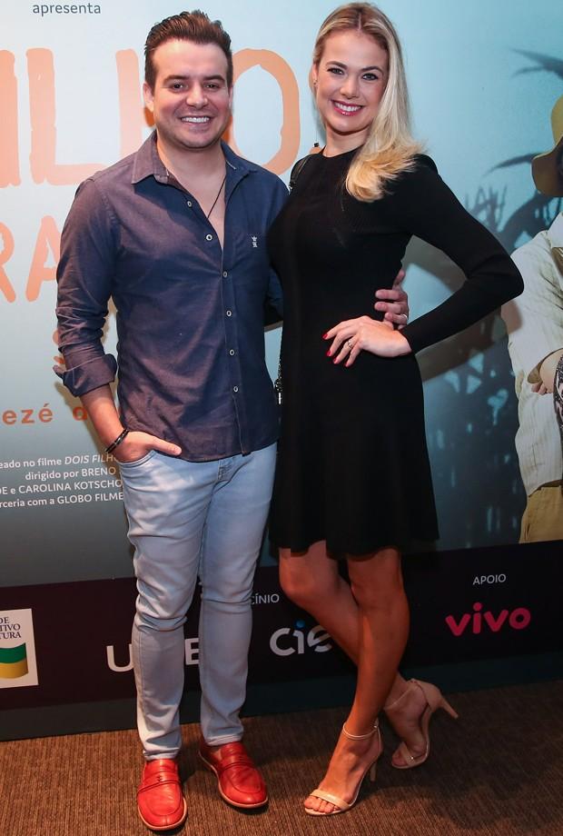 Belutti e a mulher, Thais Pacholek (Foto: Manuela Scarpa/Brazil News)