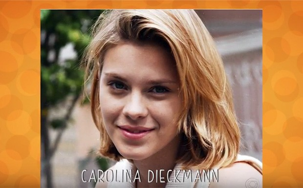 Carolina Dieckmann - ANTES E DEPOIS