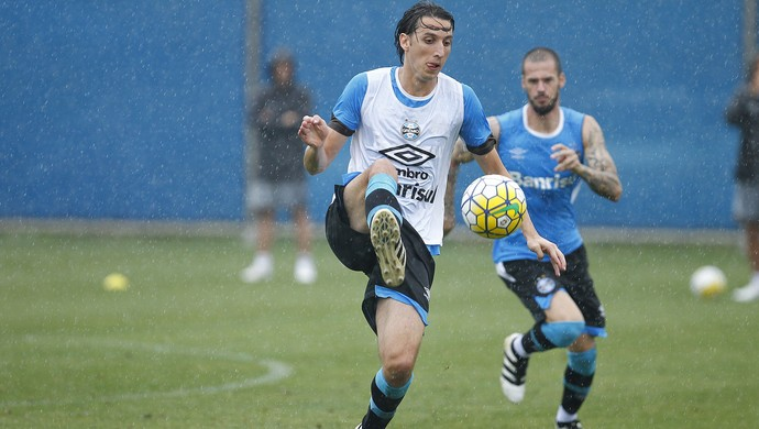 Geromel Fred Grêmio (Foto: Lucas Uebel/Grêmio)