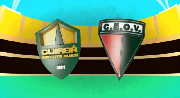 Cuiabá x Operário VG se enfrentam nesta quarta (30) (Foto: artes/ TVCA)