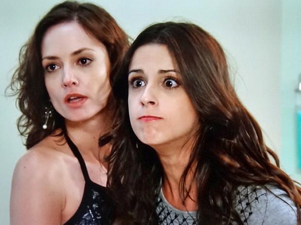 A filha de Marcelo chama a amante do pai de assassina (Foto: TV Globo)