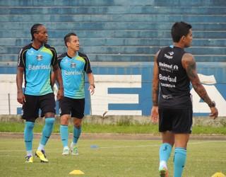 Zé Roberto treino Grêmio rodriguinho (Foto: Eduardo Deconto/GLOBOESPORTE.COM)